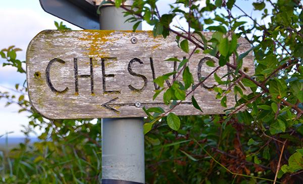 Cheswick beach sign
