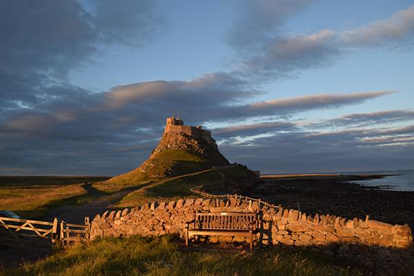 Golden hour -Lindisfarne Castle